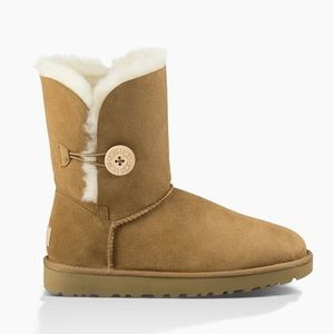 NWT❤️UGG ❤️authentic Bailey Button II In chestnut